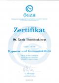 Hypnose und Kommunikatiosnszertifikat
